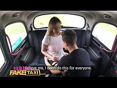 Female fake taxi young students fuck