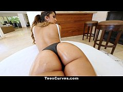 TeenCurves - Big Booty Latina Teen  Gets Fucked