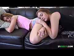 Daddy Groping His Sleep Stepdaughter