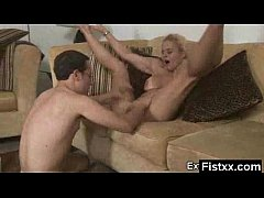 Gorgeous Fisting Mature Secretly Pounded