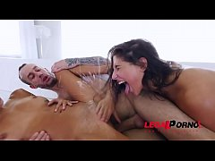 Sluts Abella Danger and Janice Griffith get anal sex punished by Chris Strokes