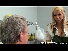 Brazzers - Baby Got Boobs -  Only one way to save the store scene starring Sarah Vandella and Keiran