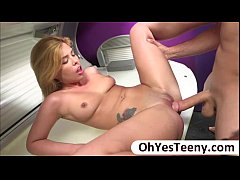 Teen Rikki have hardcore sex on the spa witha  ...