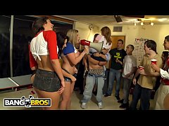 BANGBROS - College Dorm Gets Invaded By Big Tits Pornstars And Things Get Crazy!