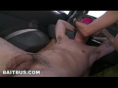 BAIT BUS - Latino Alejandro and Straight Bait Alexis Fawx Trick Young Benjamin