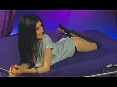 Telephone sex brunette sexy show!