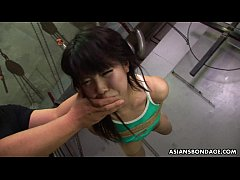 Asian freak tied up to be sexually tortured by some pervs