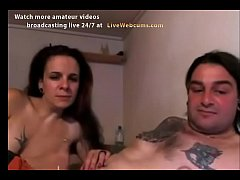 Amateur Couple With Piercing On The Cock And