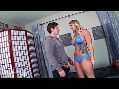 Cali Carter Pays with Pussy -Laz Fyre