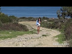 Outside Play - Getting off in nature finger deep in my pussy between the sand dunes