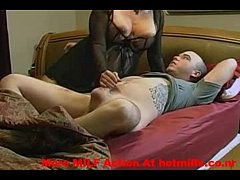 Masked amateur wife in a threesome porn tube XXX