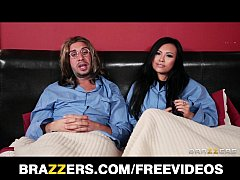 Asian beauty Gia Grace rides dick in her one-pi...