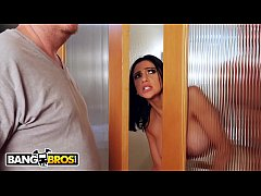BANGBROS - Cheating Girlfriend Fucks The Help While Bae Is Still In The House!