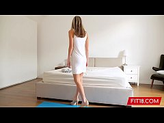 FIT18 - Gina Gerson - Creampie Her 88 lb Skinny Ass