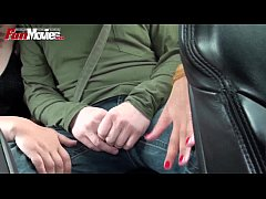 FUN MOVIES Public Amateur Threesome in the car