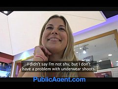 PublicAgent Jennifer rides my cock in the ...
