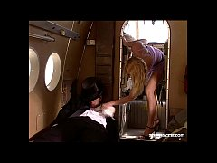 Anal Loving Claudia Jamsson Joins the Mile High Club