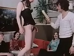 Vintage Dansk Banging Party hot horyn dutch danish chicks in old vintage 35mm film porn xxx films