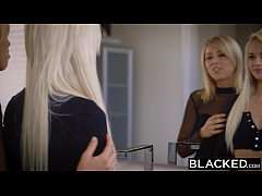 BLACKED First Interracial Foursome For Elsa Jea...