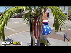 BANGBROS - Drinking Cuban Coffee In Little Havana With Big Tits Chonga, Bridgette B!