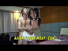 Brown Asian Bunny Cuffed And Stuffed