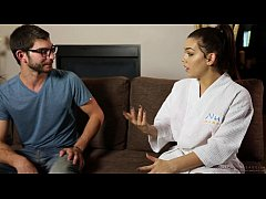 Massage with my married cousin - Kimber Woods, Logan Long