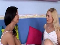 Angelina Crow and Yasmine Gold In A 3Some