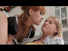 Lucy Bell, Violette Pink Threesome Play