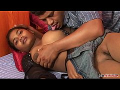 Young Indian fucked in the mouth and pussy on night and day;