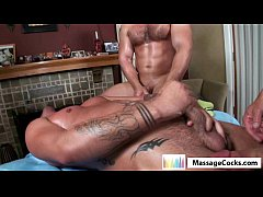Massagecocks Threesome Massage