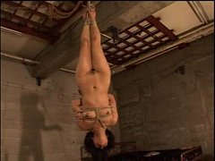 Japanese beauty suspension inverted and whipping