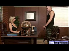 Hardcore Sex Action With Big Tits Mommy (leigh lezley) mov-13
