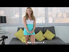 CastingCouch-X - Hot student Katerina Kay gets a healthy facial