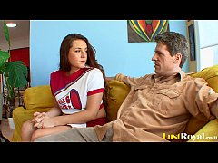 Wild Talia Palmer distracts her angry daddy