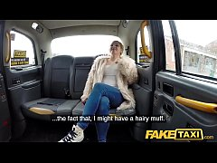 Fake Taxi Serial squirting from busty blonde am...