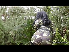 Huge tits lesbian soldier anal toys babe