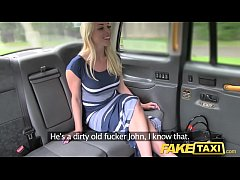 Fake Taxi New driver gives local hot blonde goo...