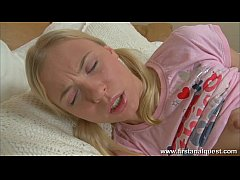 FirstAnalQuest.com - ANAL TEEN SEX WITH AN INNOCENT SMALL TITS BLONDE GIRL