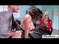 Worker Girl With Big Tits Get Bang Hard In Office (krissy lynn) clip-21