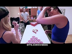 BFFS - Strip Pong Game Turns Into Orgy At College