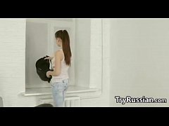 Fit Russian Teen Girl Loves To Do Anal