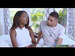 Young Thick Black Ebony Stepsister Daya Knight Has Braces Fucked By Horny Stepbrother