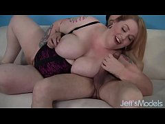Fat ass Bailey Belle gets fucked