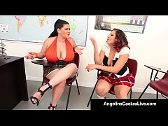 Bad Girls Angelina Castro and Gia Love Get Detention After School!