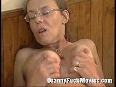 Old Granny anal sex