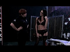 Lily Cade the cop bangs Dava Foxx