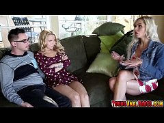 Alina West loses her anal virginity while mom is watching