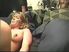 Hubby Watch His Wife Destroyed by BBC