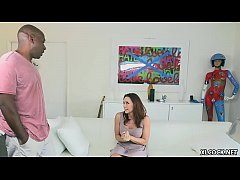 Chanel Preston enjoys anal fucking with Mandingo's big black cock