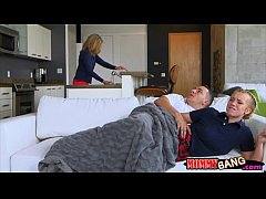 Cory Chase and Bailey Brooke horny threesome session